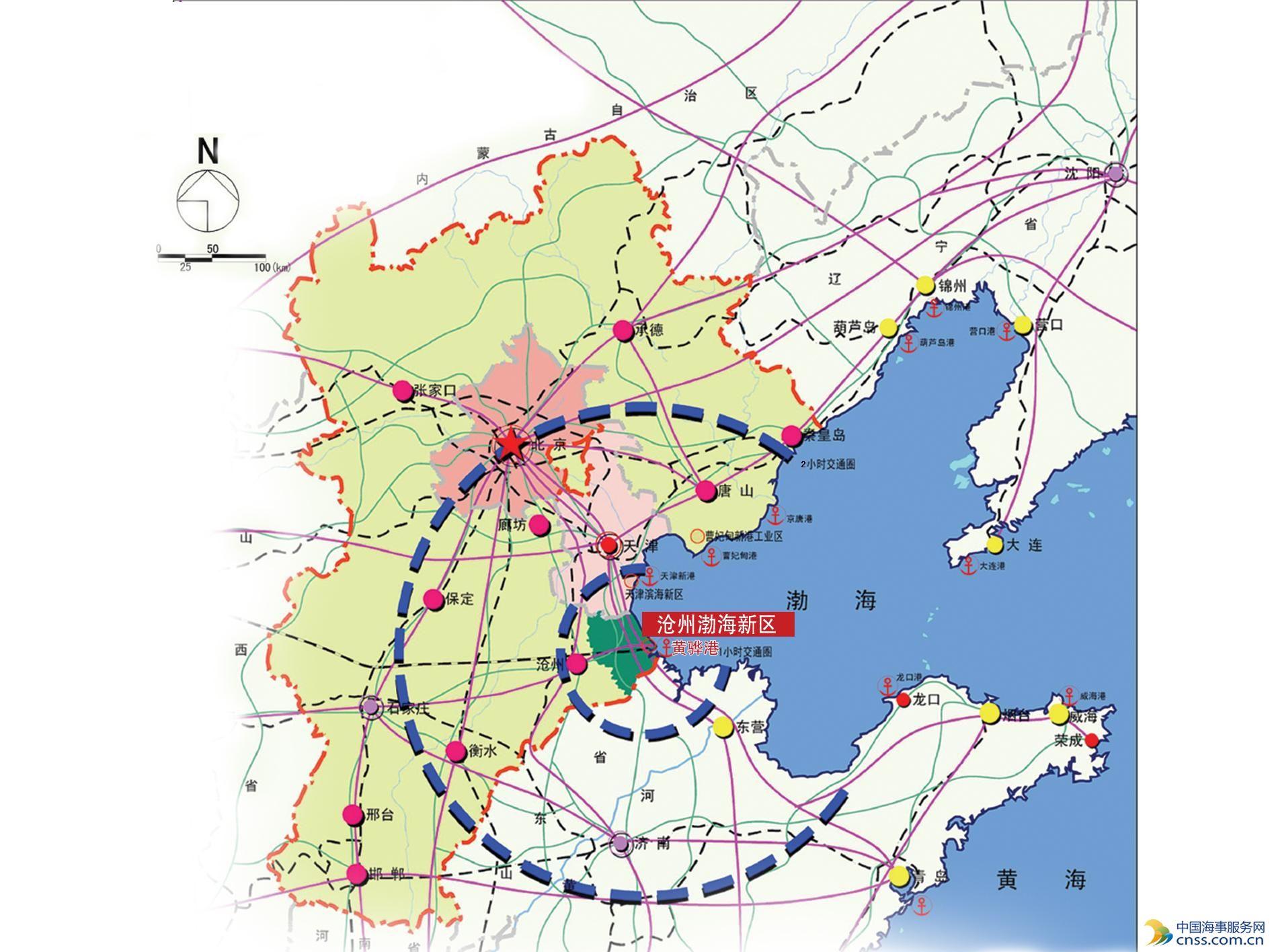 渤海石油街道地图